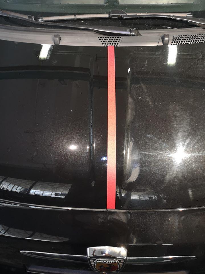 Car Detailing su 500 abarth