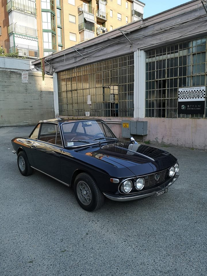 Car Detailing su Lancia Fulvia