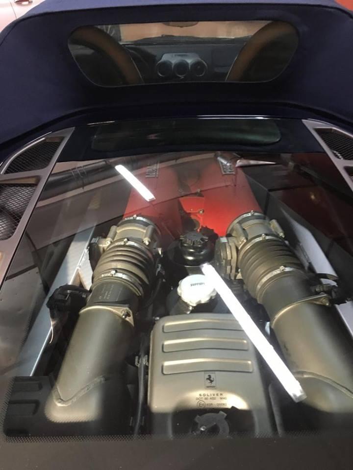 car detailing su ferrari